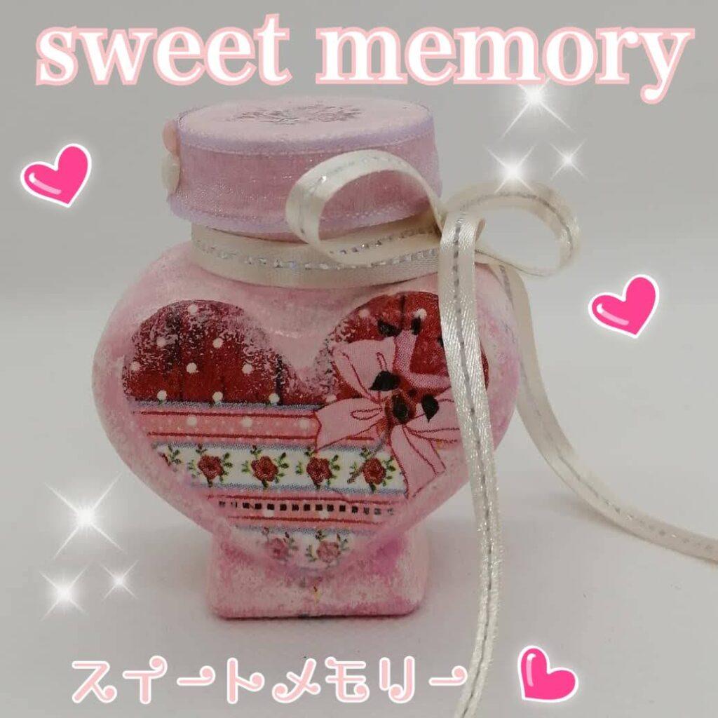 petit kuni🎀レッスンデー❣️(ハート瓶に♥️デコパージュ)